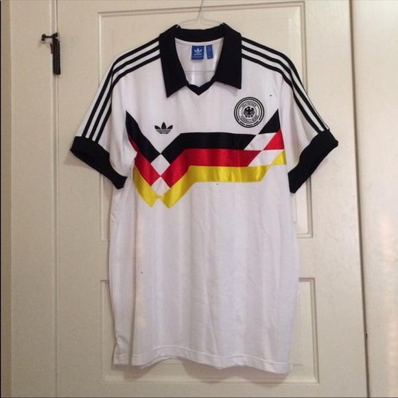 sale retailer fa20d 63bef adidas Originals '90 Germany National Team Jersey